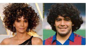 Memes Oscar: Halle Berry como Diego Maradona