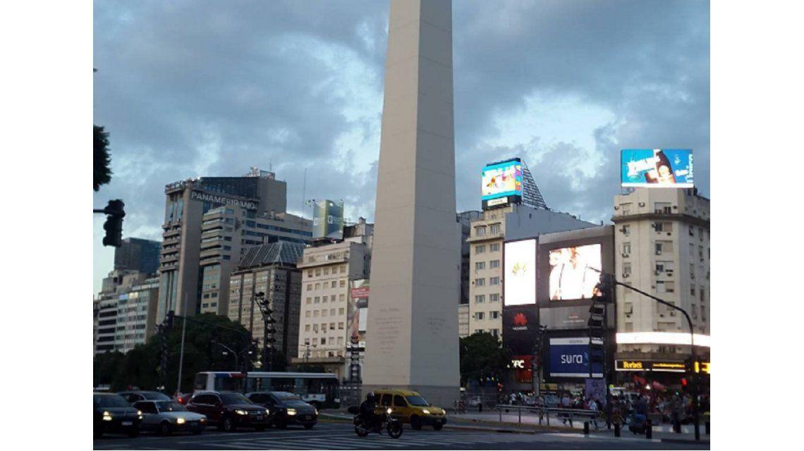 Lunes cálido en Capital y Gran Buenos