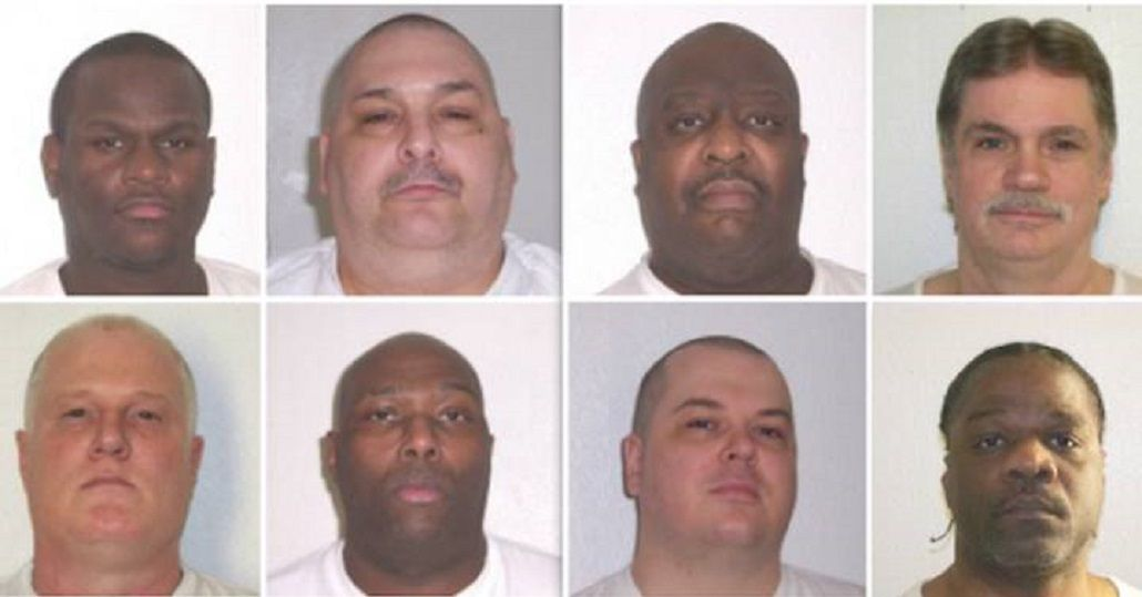 Los ocho condenados a muerte de Arkansas