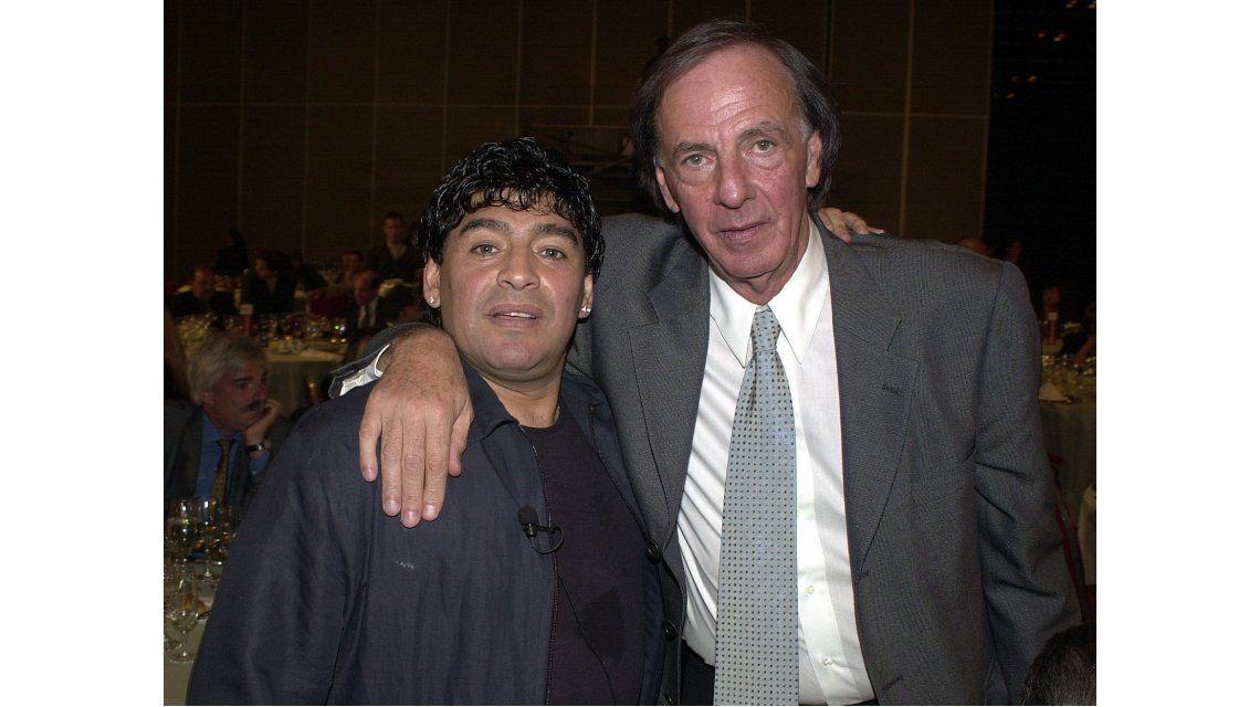 Diego Armando Maradona y César Luis Menotti