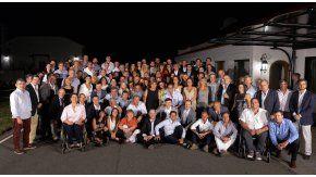 Reunión de Macri con legisladores de Cambiemos