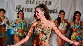 Gisela tiene 27 años y baila en la comparsa Arandú Beleza