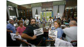 Reunión para acorrdar la paritaria docente bonaerense