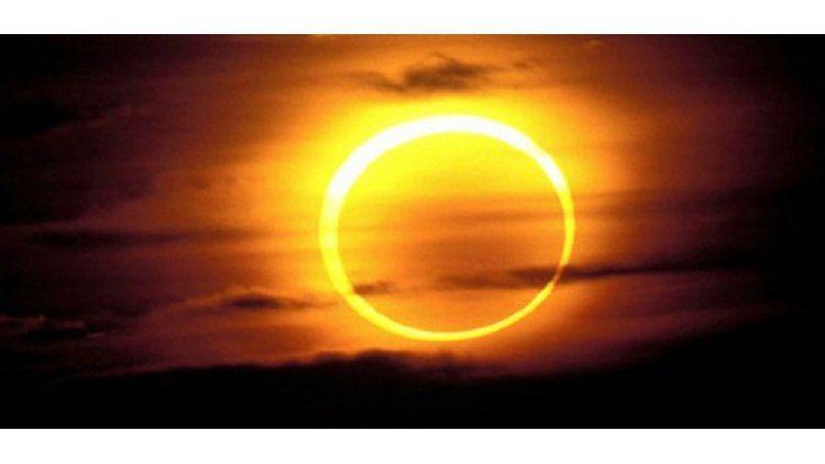 El eclipse solar anular en vivo