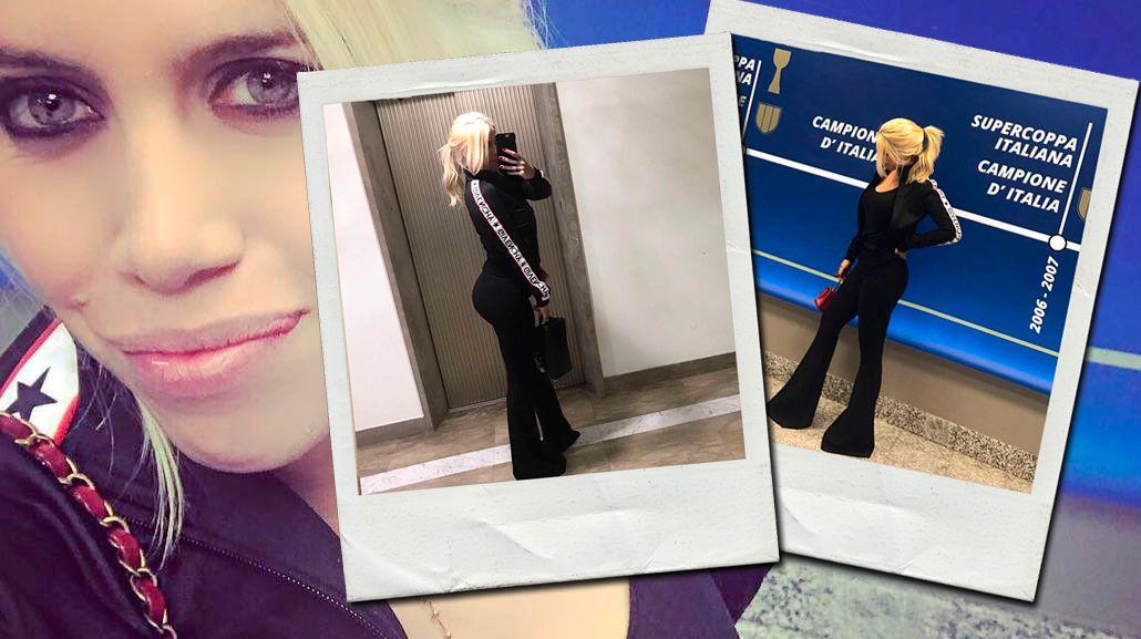 Las fotos de Wanda que levantaron sospechas