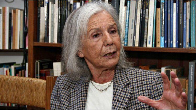 Beatriz Sarlo evaluó las políticas de Mauricio Macri