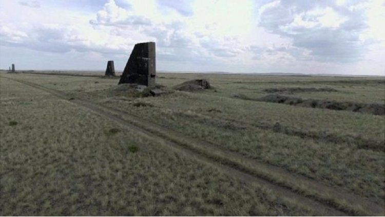 El Polígono de Kazajistán - Crédito: BBC Mundo
