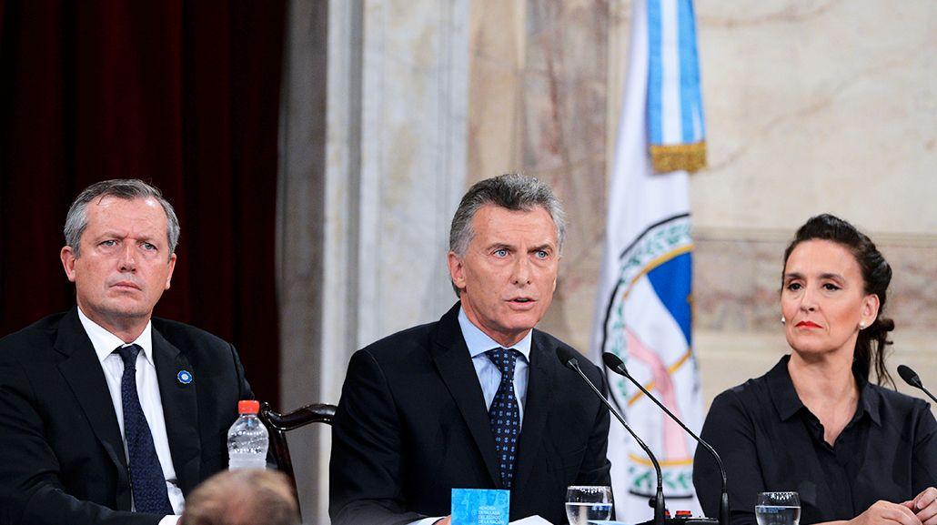 Macri inauguró las 135° sesiones ordinarias en el Congreso