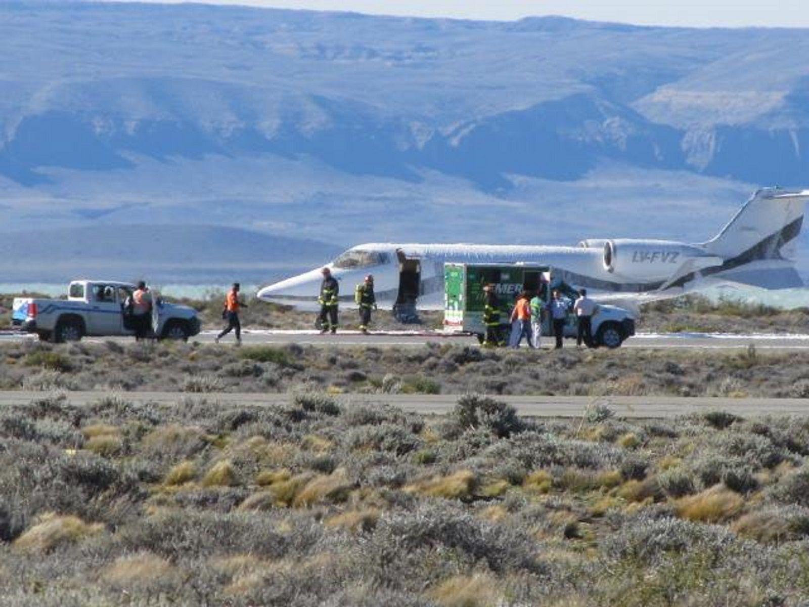 Un avión tuvo que aterrizar de emergencia en Calafate