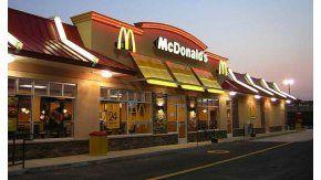 Hallazgo en un McDonalds de Italia