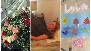 Eva Anderson dio a luz a Emma el martes 21