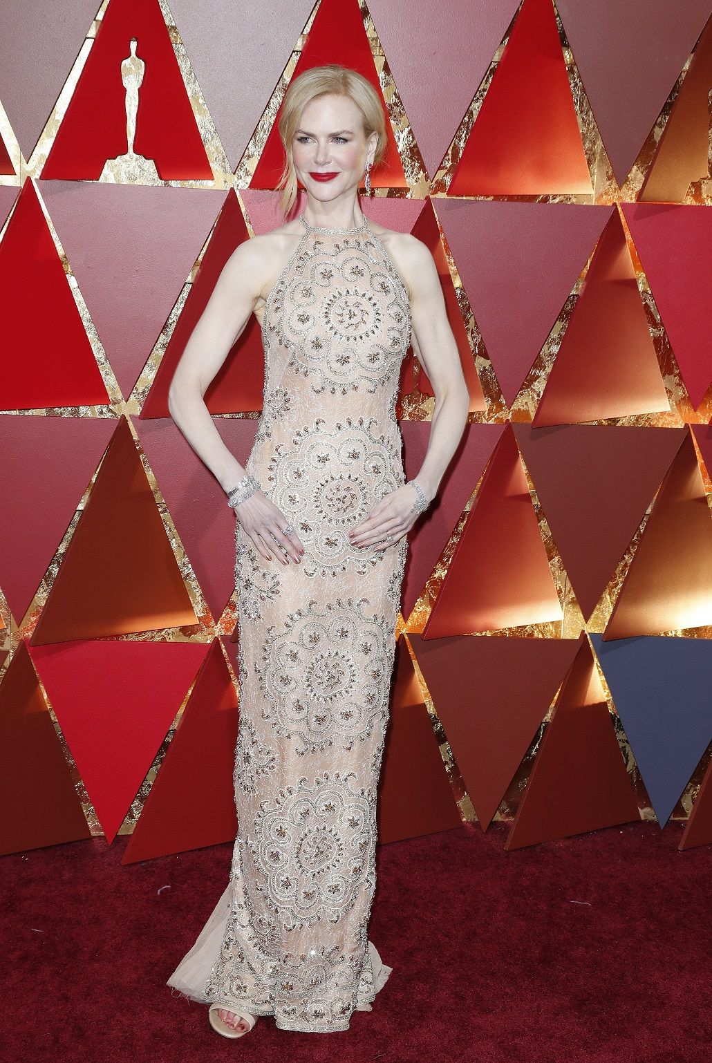 Nicole Kidman en los Oscar