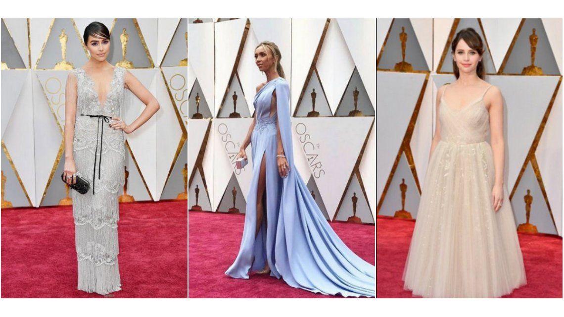 Los looks de la alfombra roja de los Oscar 2017