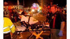 Un conductor atropelló a una multitud en Nueva Orleans - Crédito: theadvocate.com