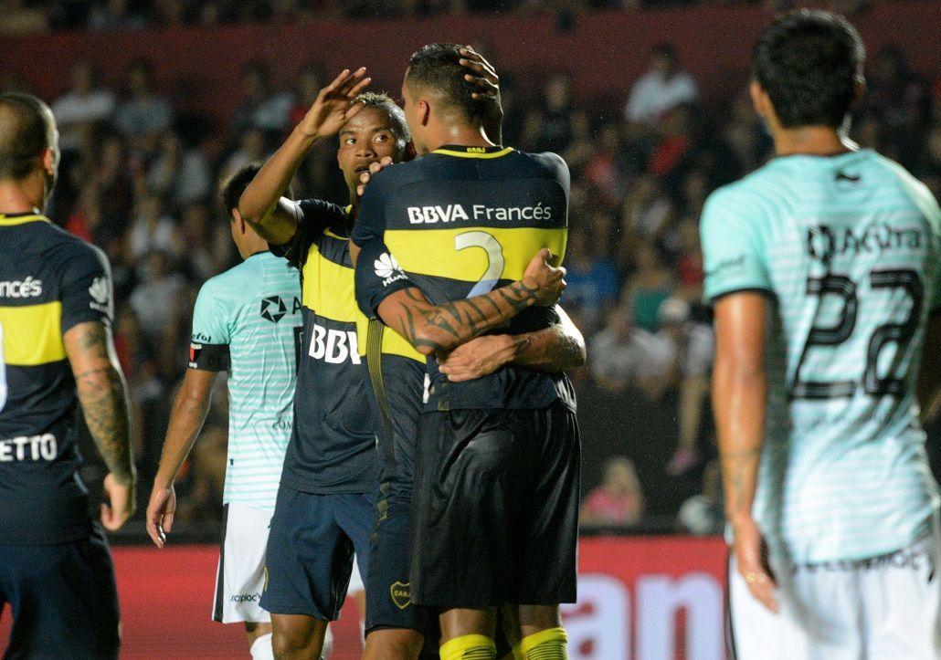 Boca derrotó por 2 a 1 a Colón