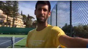 Djokovic transmitió una discusión con su esposa