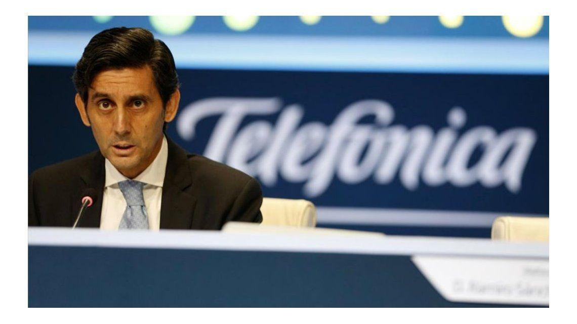 José María Álvarez-Pallete presidente ejecutivo de Telefónica