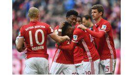 El Bayern Munich no le tuvo piedad al Hamburgo