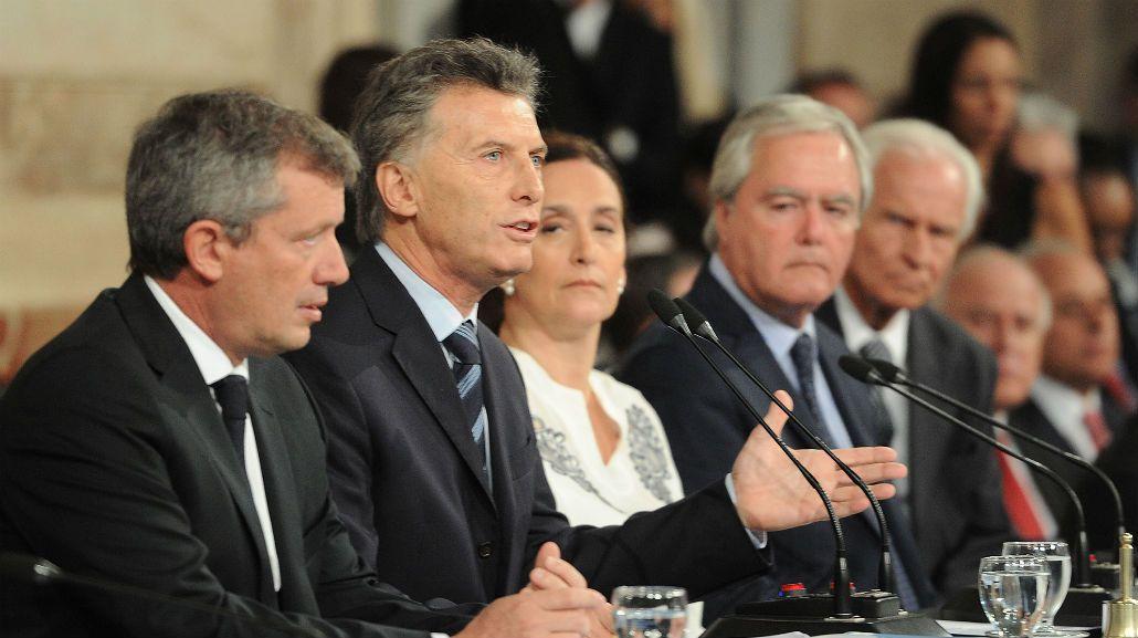 El discurso de Mauricio Macri durante la apertura de sesiones ordinarias en 2016