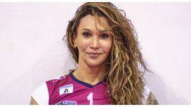 Tiffany había jugado en ligas masculinas como Rodrigo Abreu
