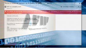 AFIP advierte por estafas con un mail trucho