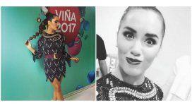 Lali Espósito sorprendió con un look alocado para la gala de Viña del Mar 2017.