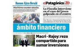 Tapas de diario del 24 de febrero de 2017
