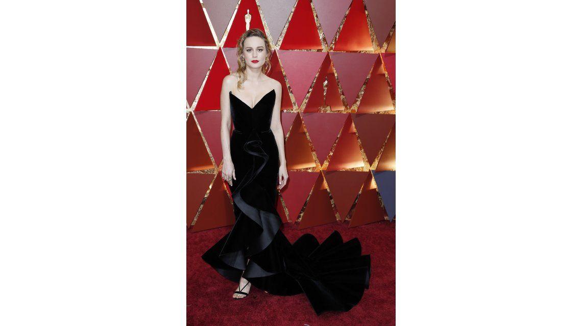 Brie Larson en los Oscar