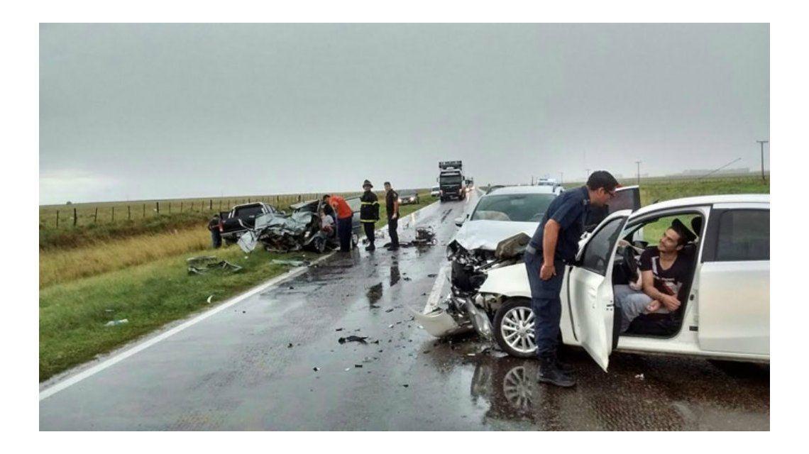 Una mujer y su hija murieron en un accidente