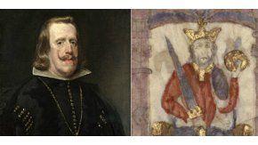 Rey Felipe IV de España y rey Fernando IV de Castilla