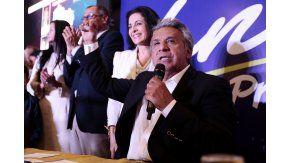 Lenin Moreno pelea por la presidencia de Ecuador