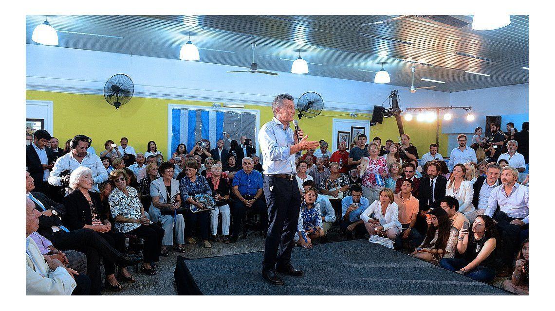 Macri se reunió con jubilados en San Luis