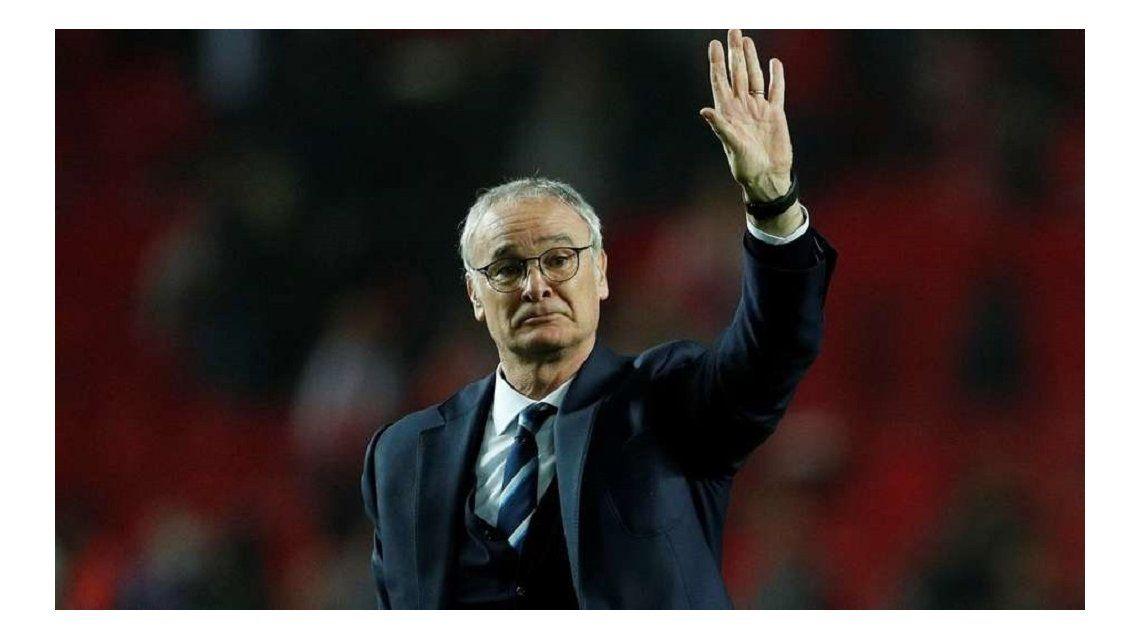 El triste adiós del entrenador italiano
