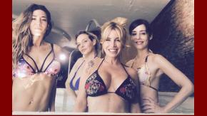 Florencia Peña, Jimena Barón, Paola Krum y Gabriela Toscano, sexies