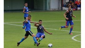 Junior Benítez volvió a hacer un gol para Boca en un amistoso