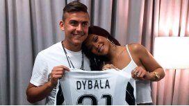 Paulo Dybala, muy cerca de Rihanna