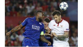 Sevilla y Leicester, por la ida de octavos de final