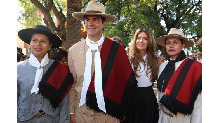 Juan Manuel Urtubey e Isabel Macedo
