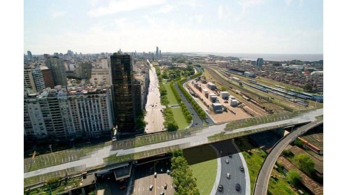Así quedará la nueva autopista Illia: tendrá 4 accesos en 2018