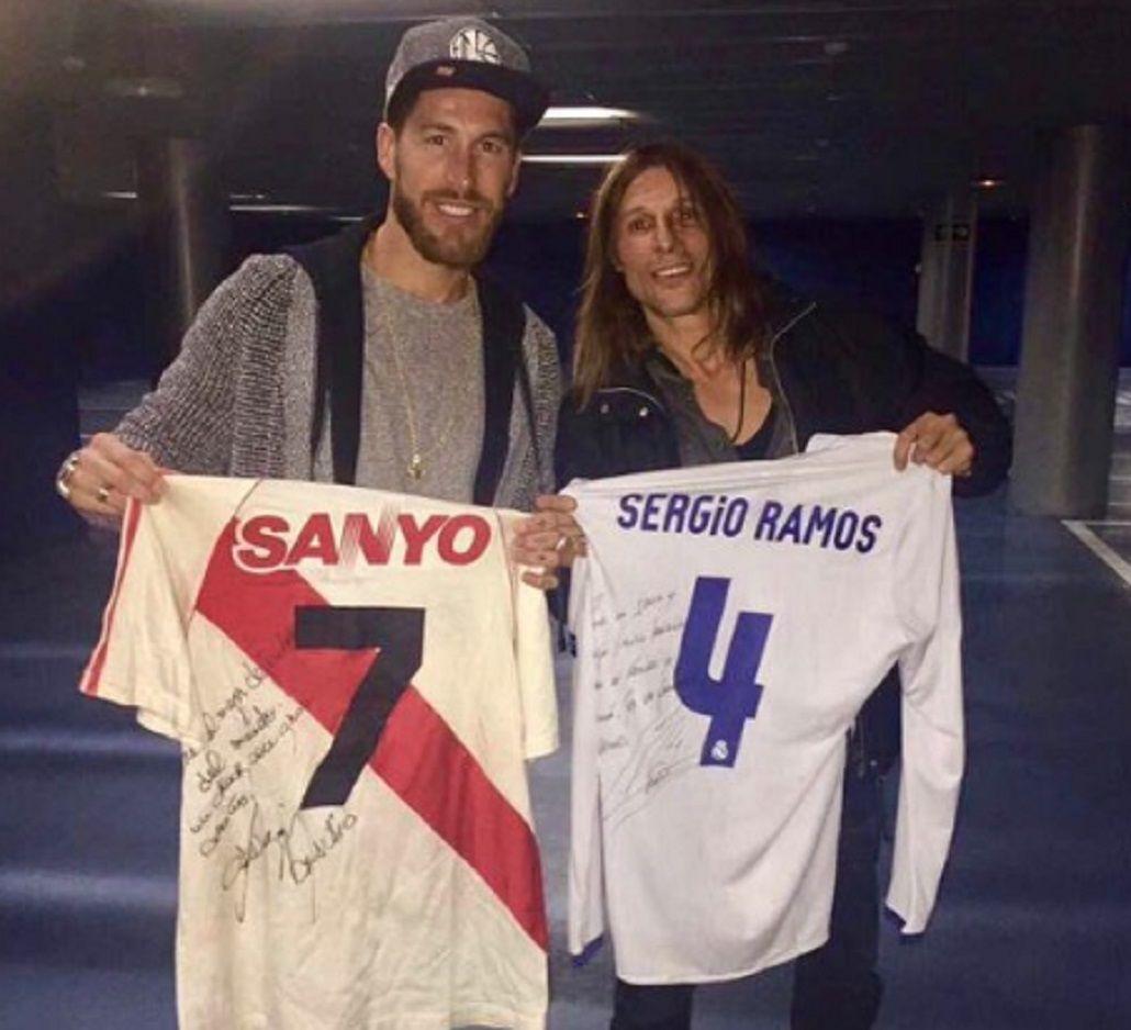 El defensor español se declaro fanático del argentino