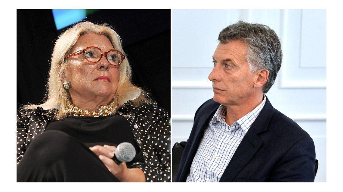 Carrió volvió a apuntar contra Macri