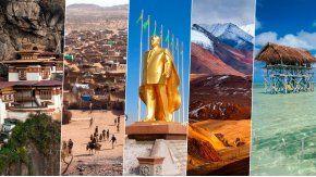 Los 10 países con menos turismo del mundo