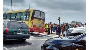 Un colectivo atropelló a unos ancianos en Mar del Plata