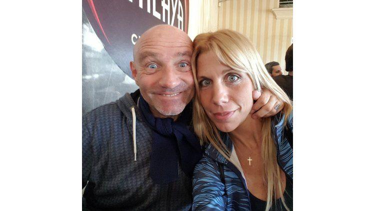 Leo Rosenwasser y Valeria Dollagaray