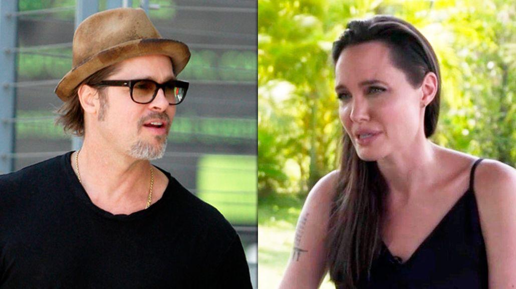 Brad Pitt criticó a Angelina Jolie