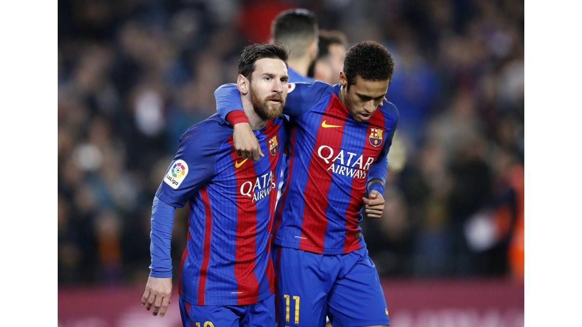 Messi emprendió el regreso hacia su club