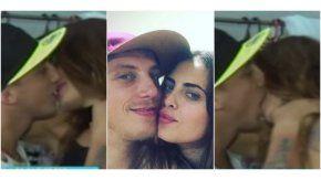 Beos a beso: Silvina Luna y El Polaco se comieron la boca