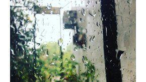 Las lluvias se hicieron sentir en distintos puntos del país