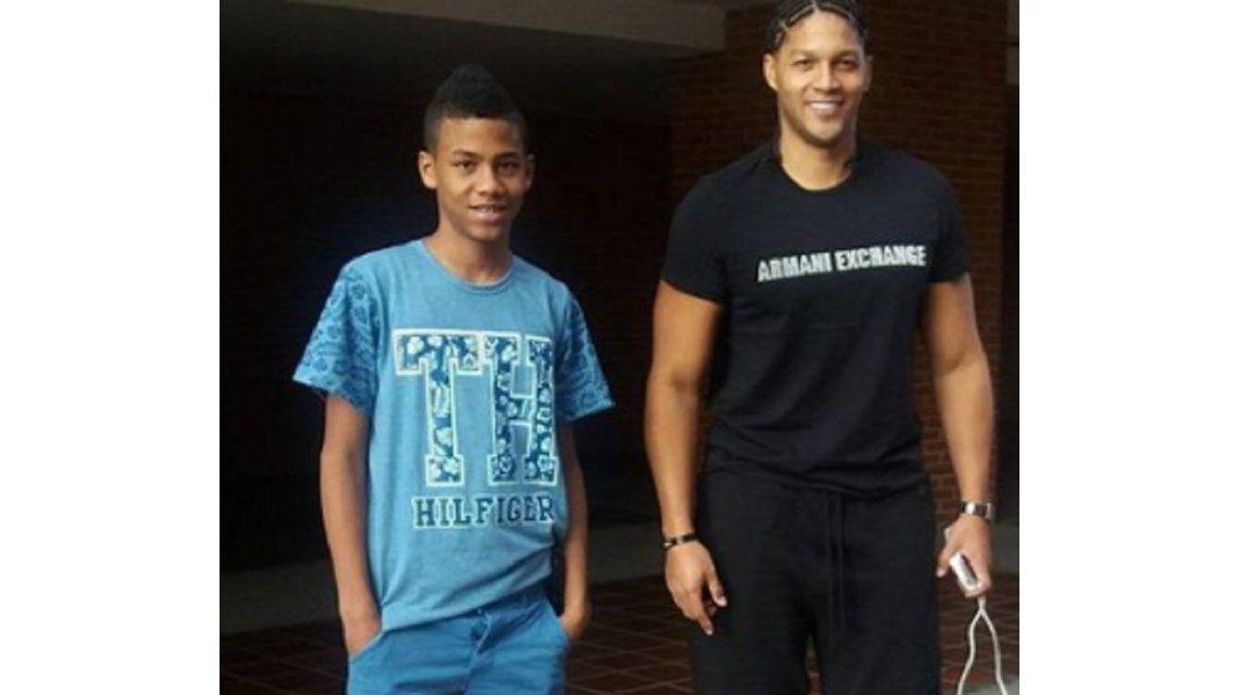 El basquetbolista lamentaba el secuestro de su hijo en las redes sociales