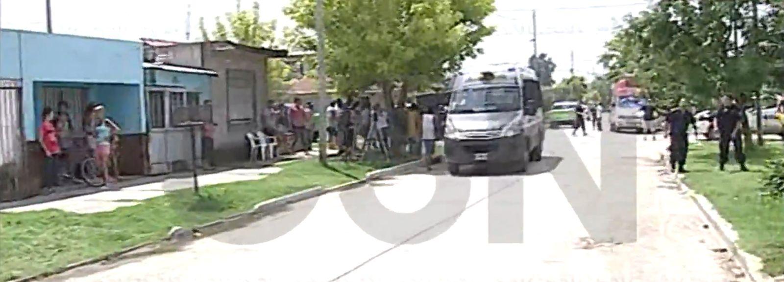 Incidentes entre la policía y los vecinos en Lomas de Zamora